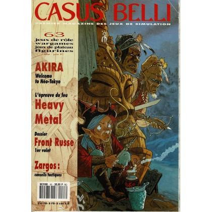 Casus Belli N° 63 (Premier magazine des jeux de simulation) 009