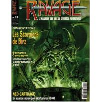 Ravage N° 11 (le Magazine des Jeux de Stratégie Fantastique) 001
