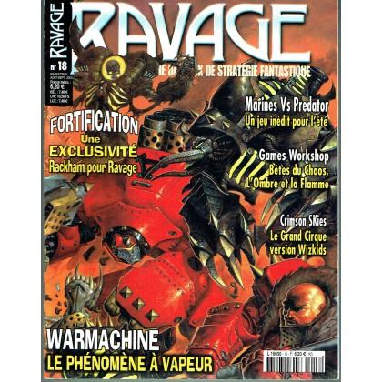 Ravage N° 18 (le Magazine des Jeux de Stratégie Fantastique) 002