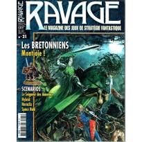 Ravage N° 21 (le Magazine des Jeux de Stratégie Fantastique) 001