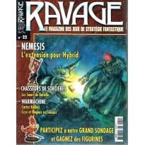 Ravage N° 22 (le Magazine des Jeux de Stratégie Fantastique) 001