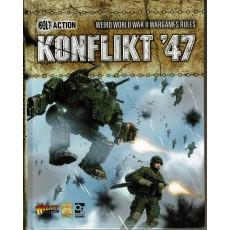 Konflikt '47 - Livre de règles (livre de base en VO)