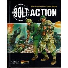 Bolt Action - Livre de règles 1ère édition (livre de base en VF)