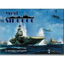 Med Sirocco - A Strategic Card Game (wargame à cartes d'Hexasim en VO & VF) 001