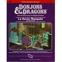B6 La Secte Masquée (jdr D&D 1ère édition en VF) 001