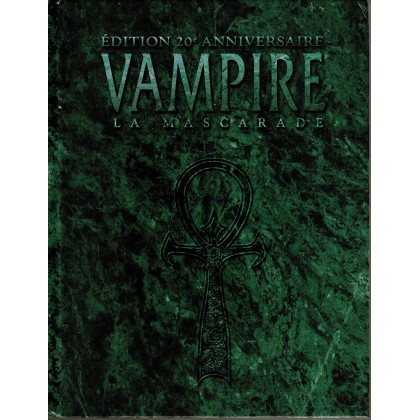 Vampire La Mascarade - Edition 20e Anniversaire (jdr Livre de Base en VF) 001