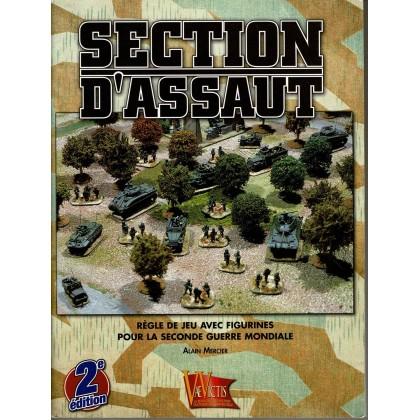 Section d'Assaut - Règle de jeu avec figurines pour la Seconde Guerre Mondiale (Livre V2 en VF) 004