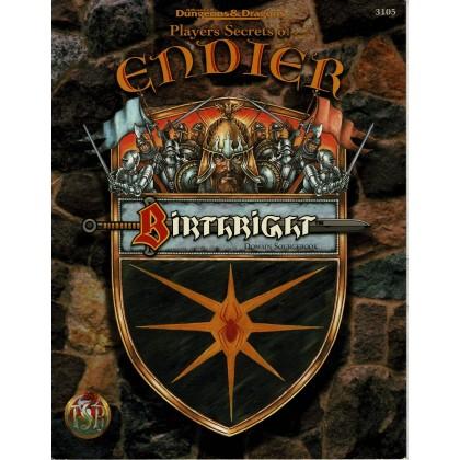 Birthright - Player's Secrets of Endier (jdr AD&D 2e édition révisée en VO) 001