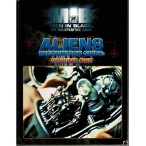 Aliens Recognition Guide - Volume 1 (jdr Men in Black Rpg en VO)