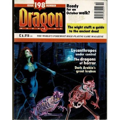 Dragon Magazine N° 198 (magazine de jeux de rôle en VO) 002