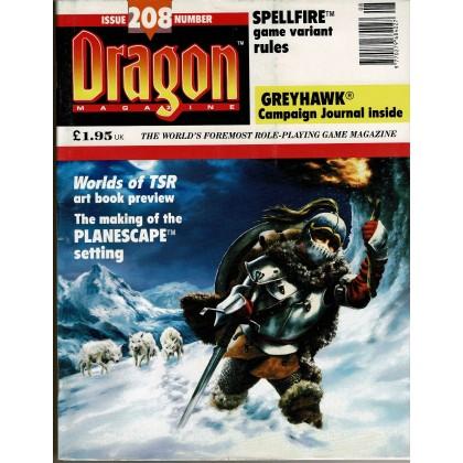 Dragon Magazine N° 208 (magazine de jeux de rôle en VO) 002