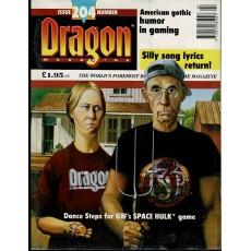 Dragon Magazine N° 204 (magazine de jeux de rôle en VO)