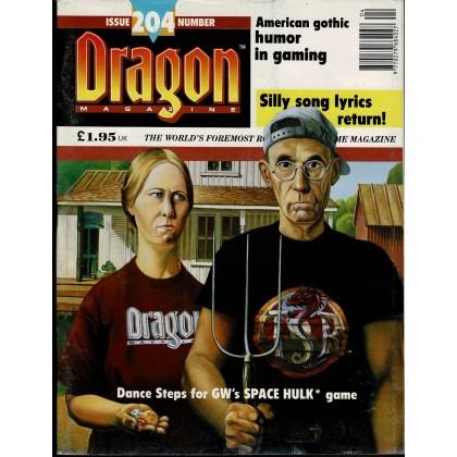 Dragon Magazine N° 204 (magazine de jeux de rôle en VO) 001