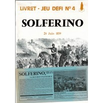 Solferino - Livret Jeu Défi n°4 (wargame Jeux Descartes en VF)