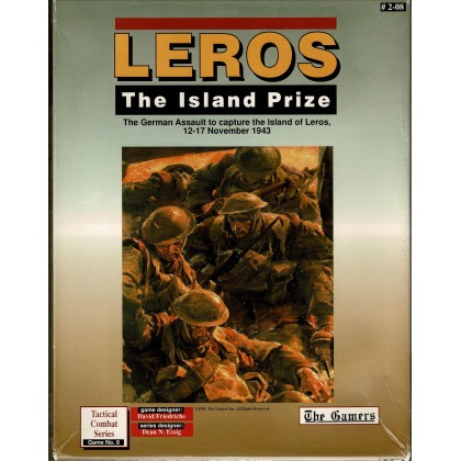 Leros - The Island Prize 1943 (wargame The Gamers en VO) 001