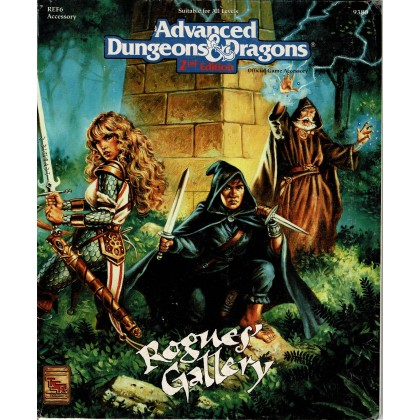 REF6 Rogues' Gallery (jdr AD&D 2e édition en VO) 001