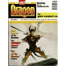 Dragon Magazine N° 197 (magazine de jeux de rôle en VO)