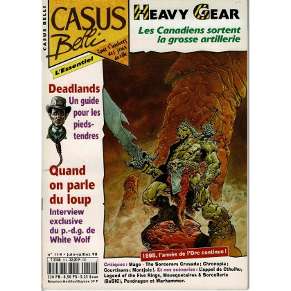 Casus Belli N° 114 (magazine de jeux de rôle) 008
