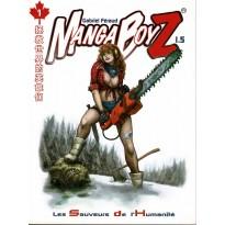 Manga BoyZ 1.5 - Les Sauveurs de l'Humanité (jdr Le Grimoire en VF)