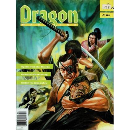Dragon Magazine N° 164 (magazine de jeux de rôle en VO) 002