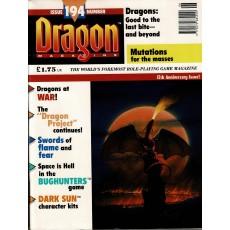 Dragon Magazine N° 194 (magazine de jeux de rôle en VO)