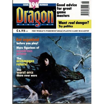 Dragon Magazine N° 196 (magazine de jeux de rôle en VO) 001