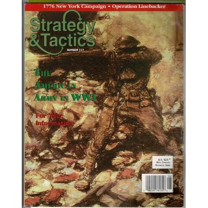 Strategy & Tactics N° 217 - The Lost Battalion 1918 (magazine de wargames en VO) 001