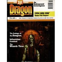 Dragon Magazine N° 211 (magazine de jeux de rôle en VO)