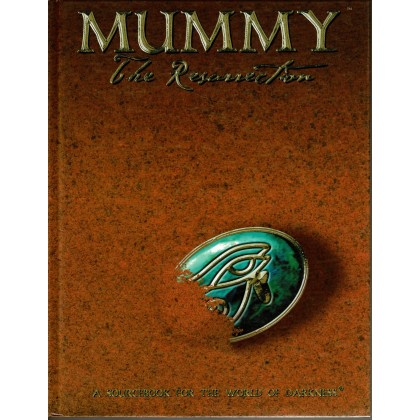 Mummy The Resurrection (jdr The World of Darkness en VO) 001