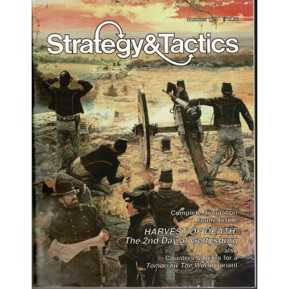 Strategy & Tactics N° 129 - Harvest of Death (magazine de wargames en VO) 001