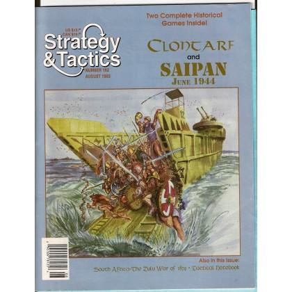 Strategy & Tactics N° 162 - Clontarf 1014 & Saipan 1944 (magazine de wargames en VO) 001