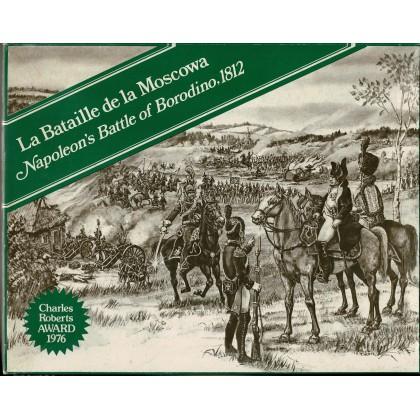 La Bataille de la Moscowa - Napoleon's Battle of Borodino, 1812 (wargame GDW en VO) 001