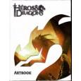 Héros & Dragons - Artbook (Livre de jdr de Black Book en VF) 001