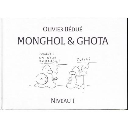 Monghol & Ghota - Niveau 1 (album humoristique de jdr de Black Book en VF) 001
