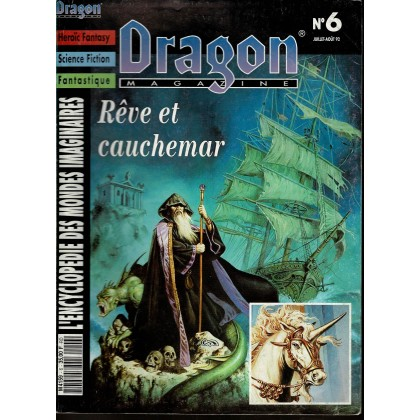 Dragon Magazine N° 6 (L'Encyclopédie des Mondes Imaginaires) 005