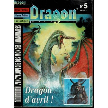 Dragon Magazine N° 5 (L'Encyclopédie des Mondes Imaginaires) 003
