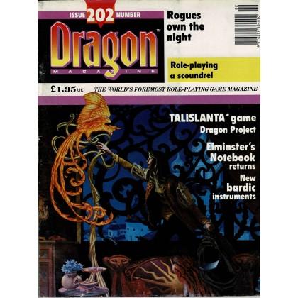 Dragon Magazine N° 202 (magazine de jeux de rôle en VO) 001