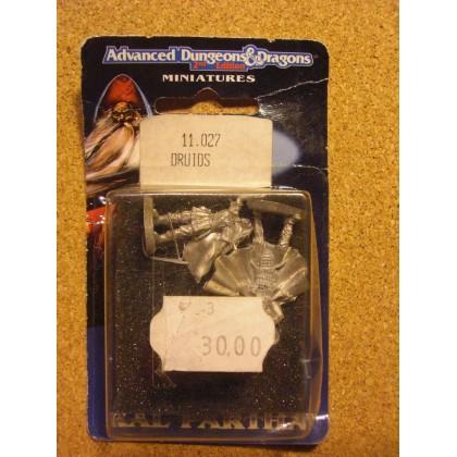 Druids (blister figurines AD&D Miniatures de Ral Partha) 002