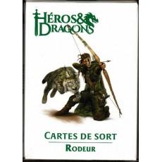 Héros & Dragons - Cartes de sort de Rôdeur (jdr de Black Book en VF)