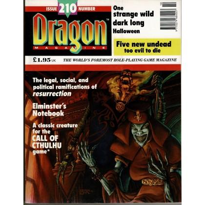 Dragon Magazine N° 210 (magazine de jeux de rôle en VO) 002