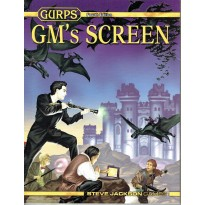 GURPS GM's Screen - Fourth Edition (jdr Steve Jackson Games en VO) 001