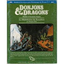 X3 La Malédiction de Xanathon (jdr D&D 1ère édition en VF)