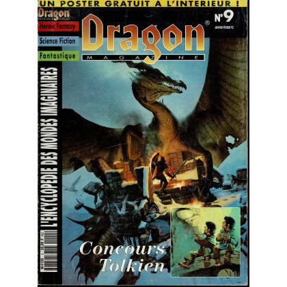 Dragon Magazine N° 9 (L'Encyclopédie des Mondes Imaginaires) 005