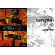 Amnesya 2K51 - Ecran de jeu & livret (jdr d'Ubik en VF)