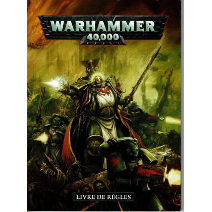 Warhammer 40,000 - Livre de règles Petit format  (jeu de figurines 6e édition en VF) 001