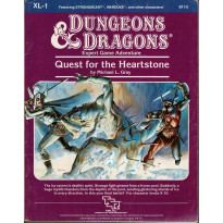 XL-1 Quest of the Heartstone (jdr D&D 1ère édition en VO) 001