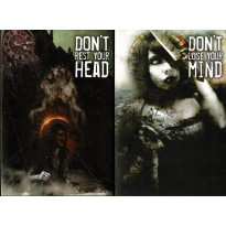 Don't rest your head + Don't lose your mind (livres de jdr en VF)