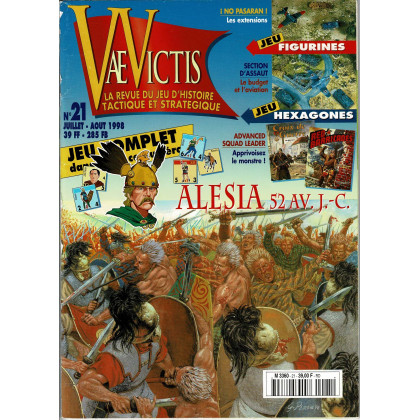 Vae Victis N° 21 (La revue du Jeu d'Histoire tactique et stratégique) 004