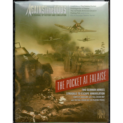 Against the Odds Nr. 27 - The Pocket at Falaise (A journal of history and simulation en VO) 001