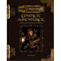 Complete Adventurer (jdr Dungeons & Dragons 3.5 en VO)